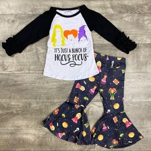 Hocus Pocus Top & Bell bottoms outfit